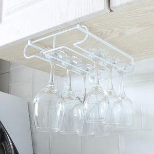 PORTE-VERRE Porte verres suspendues blanche Rack verres cuisin