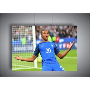 AFFICHE - POSTER Poster Mbappe Celebration Coupe du monde PSG A3 (