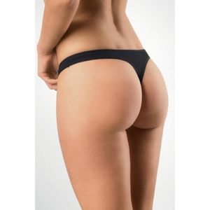 STRING - TANGA LOT 20 STRING TAILLE S CLASSIQUE NOIR OU BLANC FOR