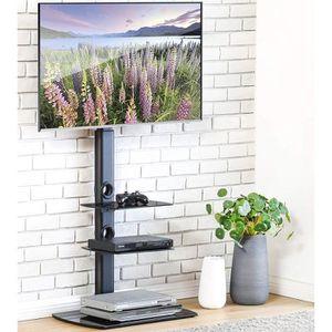 FIXATION - SUPPORT TV FITUEYES Meuble TV avec Support CantileverTélé Pie
