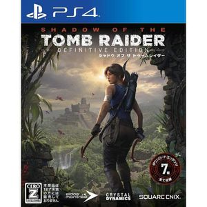 JEU PS4 Square Enix Shadow of the Tomb Raider Definitive E