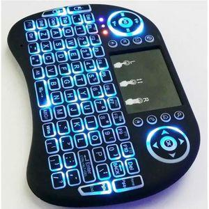 CLAVIER D'ORDINATEUR 2.4G Mini clavier sans fil Pour Android TV Box, PC