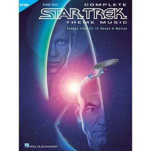 PARTITION Complete Star Trek« Theme Music - 3rd Edition, Rec