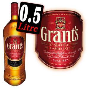 WHISKY BOURBON SCOTCH Whisky Grant's 50cl 40°