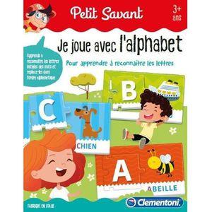 JEU D'APPRENTISSAGE CLEMENTONI Petit Savant - Je joue avec l'alphabet
