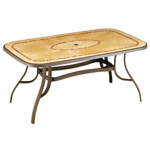 Table de jardin Louisiana 2 GROSFILLEX - Achat / Vente table ...