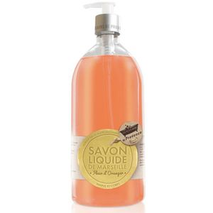 SAVON - SYNDETS Savon liquide de marseille fleur d'oranger 1 l