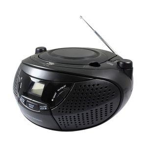 RADIO CD CASSETTE Radio CD MP3 avec port USB et prise casque