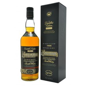 WHISKY BOURBON SCOTCH Cragganmore - Distillers Edition - Whisky - 40.0%