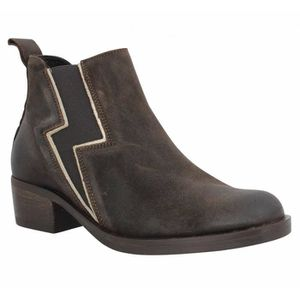 BOTTINE Bottines PALLADIUM Riema nubuck Femme-36-Marron