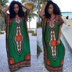 ROBE Femmes Robe Africaine Femmes Mode Imprimer Robe dr