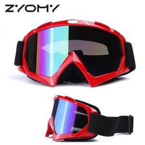 LUNETTES - MASQUE ZYOMY Lunettes Moto Cross Protection Anti Soleil S
