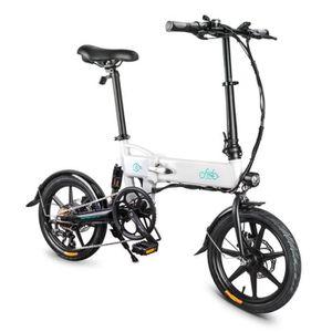 VÉLO ASSISTANCE ÉLEC Vélo électrique pliant 10-20 km/h 7.8Ah 250W 16 po