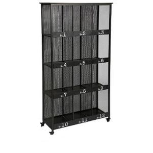 bibliotheque metal achat vente bibliotheque metal pas cher cdiscount. Black Bedroom Furniture Sets. Home Design Ideas