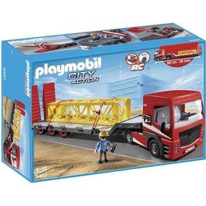 UNIVERS MINIATURE PLAYMOBIL 5467 Tracteur Routier Grande Remorque