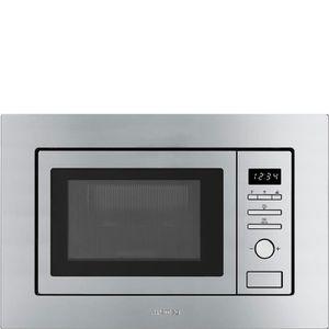 MICRO-ONDES Smeg FMI020X, Intégré, Micro-ondes grill, 17 L, 80