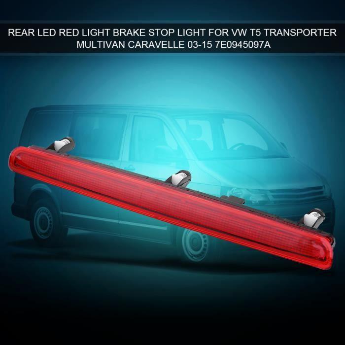 Feu arrière feu stop LED rouge pour VW T5 Multivan Transporter 03-15 7E0945097A--HEN