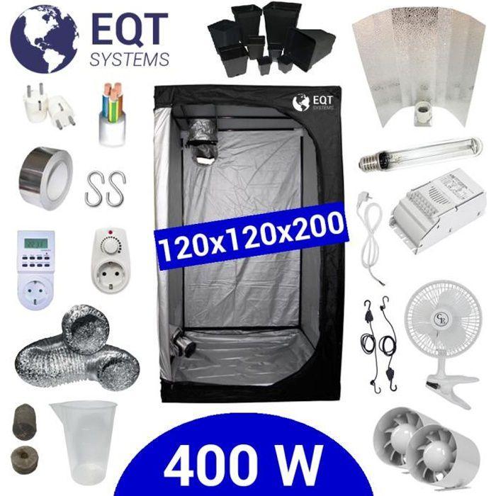 Pack Tente 400W 120x120 - ETI + Supacrop
