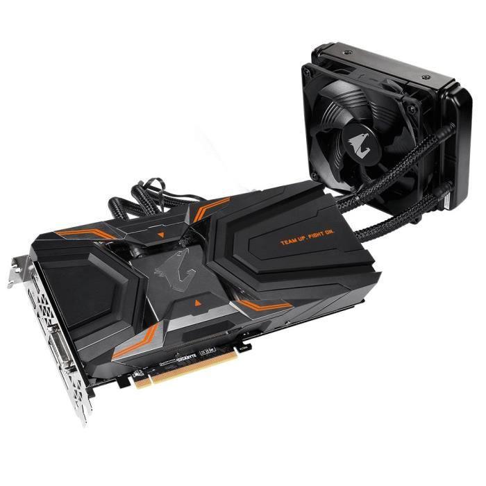 Gigabyte GV-N108TAORUSX W-11GD Carte Graphique Nvidia GeForce GTX 1080 Ti 11 Go PCI Express