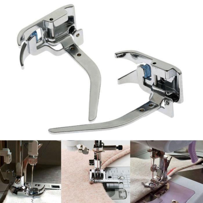TEMPSA 1Pcs Pied presseur accessoire de machine à coudre pr mince tissu extensible