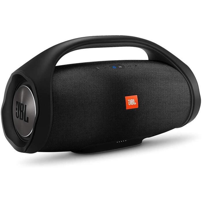 JBL Boombox Enceinte Portable - Son Ultra Puissant - Modes de Son Intérieur & Extérieur - Autonomie 24 hrs - Étanche pour Piscine &