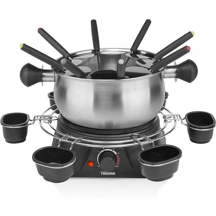 Tristar FO-1109 Appareil à fondue familial, INOX