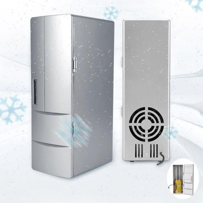 Mini-réfrigérateur, Mini-congélateurs-congélateurs-congélateurs USB compacts boivent de la bière, un refroidisseur, un