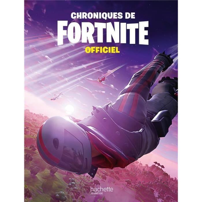 Livre chroniques de Fortnite ; officiel (édition 2020)