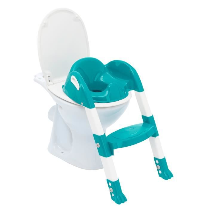 THERMOBABY Reducteur de wc kiddyloo® - Vert emeraude
