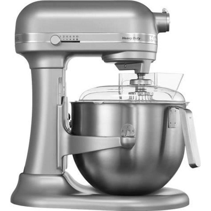 KitchenAid Heavy Duty 5KSM7591XESM Robot pâtissier 500 Watt argent métallique