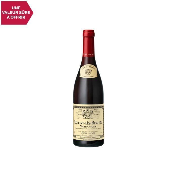 Savigny-lès-Beaune 1er Cru Les Narbantons Rouge 2014 - 75cl - Louis Jadot - Vin AOC Rouge de Bourgogne - Cépage Pinot Noir