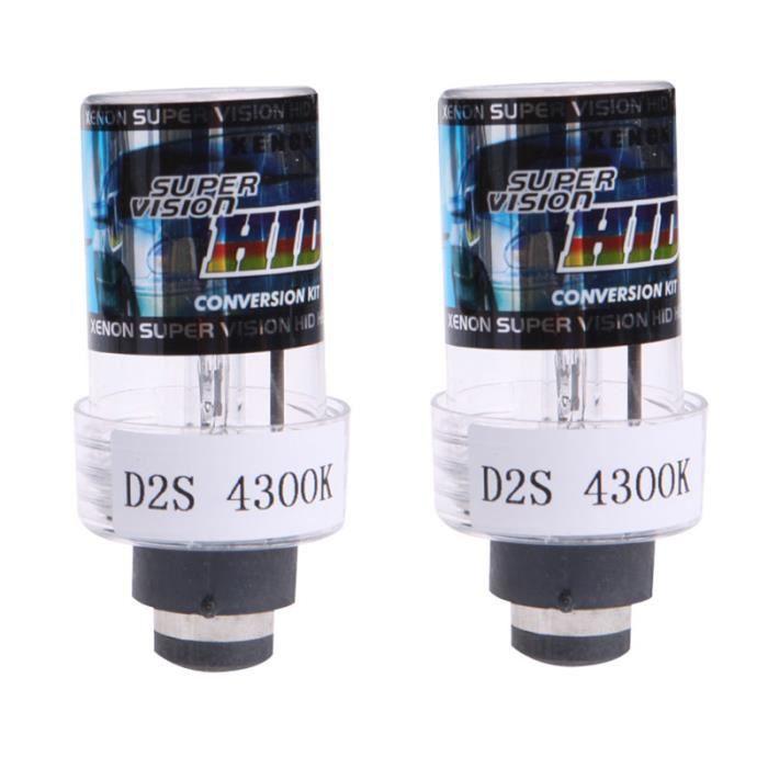 2x 35W D2S / D2C XENON VOITURE DE REMPLACEMENT DE LA VOITURE HID Blanc Phare Blanc Ampoules
