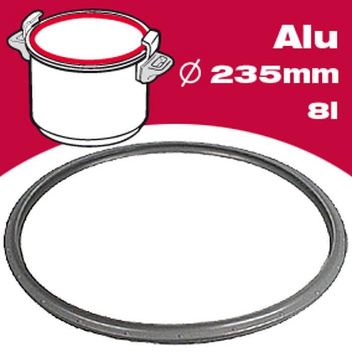 SEB Joint autocuiseur aluminium 791946 8L Ø23,5cm gris