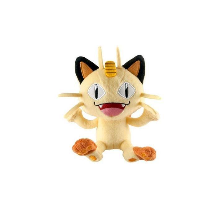 Tomy - Peluche Pokemon - Miaouss 18cm