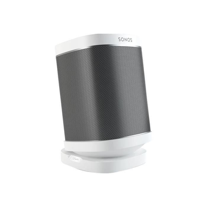 Vogel's Sound 4113 Pied pour haut-parleur(s) blanc plateau de table