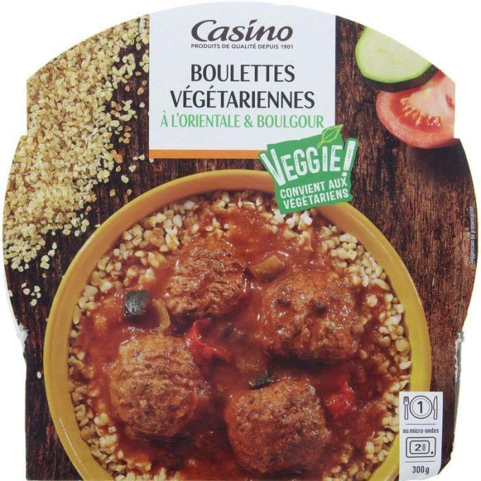 Boul végétale orientale - 300 g