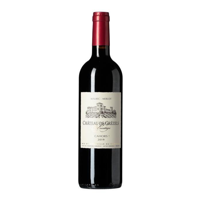 Château de Grezels 2014 Prestige Cahors - Vin rouge du Sud Ouest