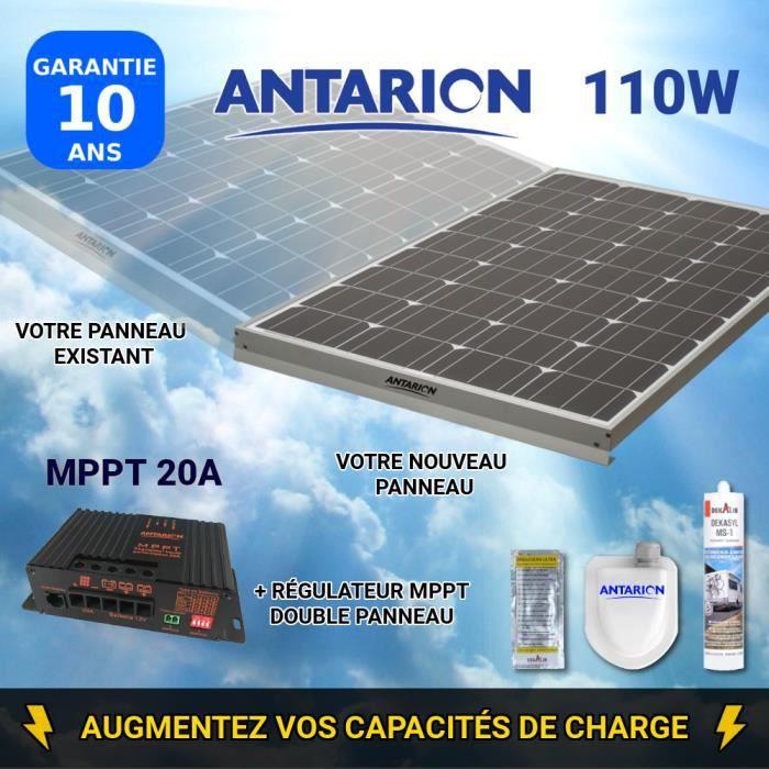 Batterie 12v 120ah camping car idéal panneaux solaires