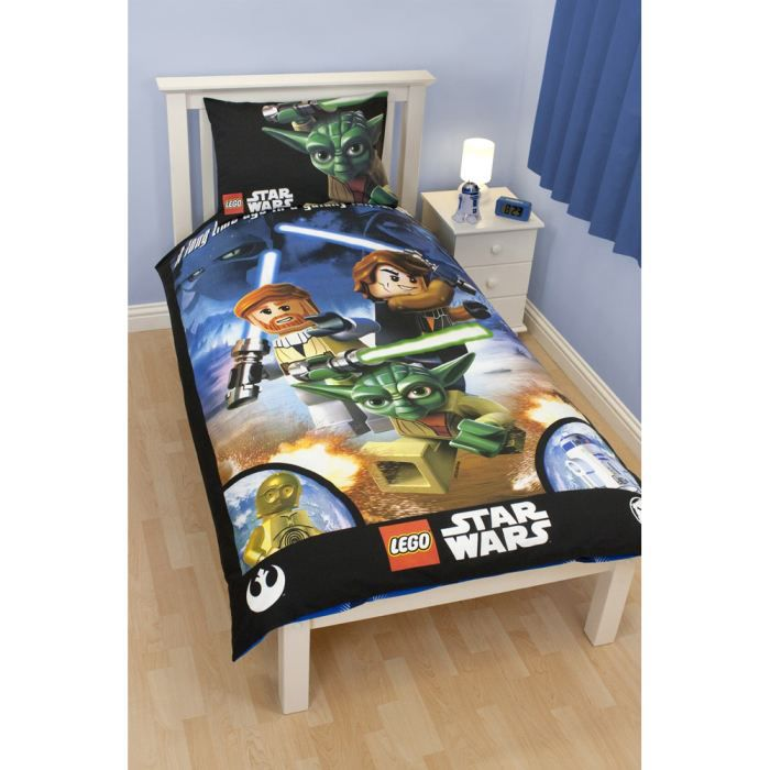 lego star wars parure de lit galaxy 135 x 200 cm achat vente parure de couette cdiscount. Black Bedroom Furniture Sets. Home Design Ideas
