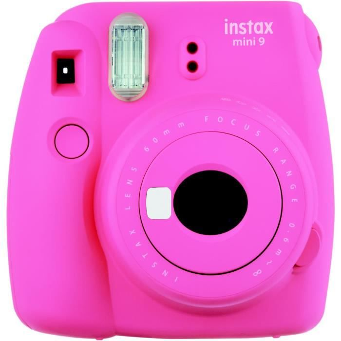 APP. PHOTO INSTANTANE Fujifilm Instax Mini 9 Rose - Appareil photo insta