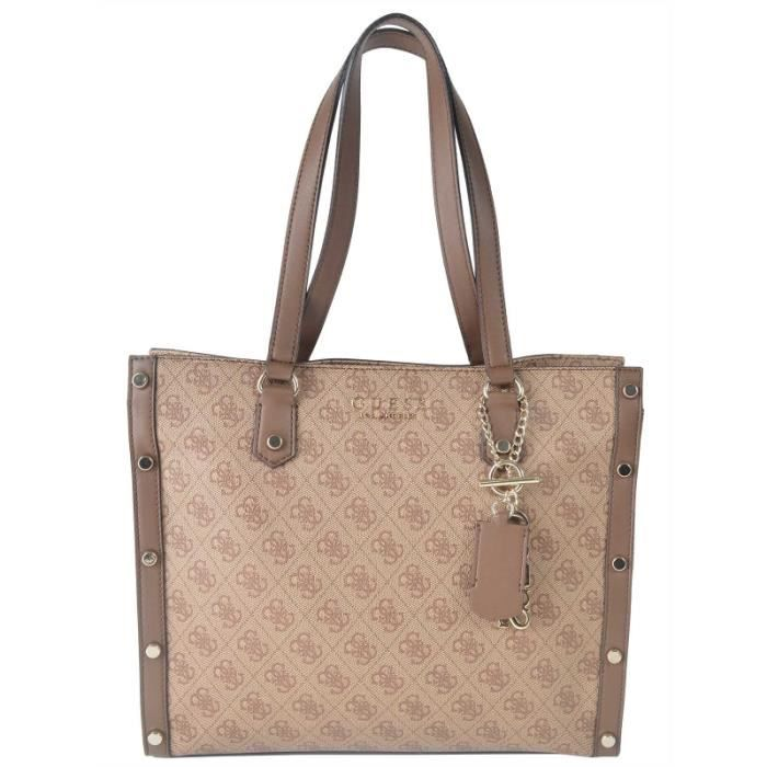Marron Sac 12 Shopping Guess X Brown 35 29x Sg699123 ngxBgCq8fw