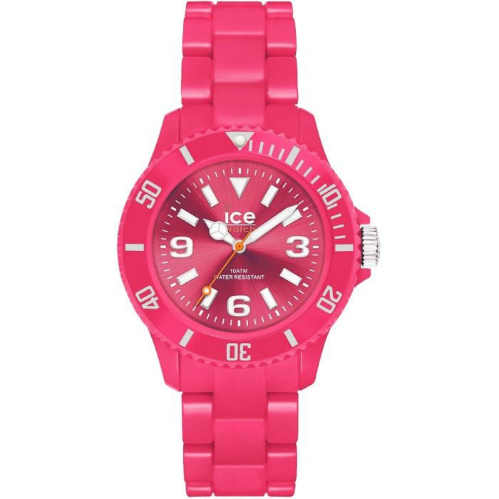 montre ice watch rouge ice solid rose sd pk s rouge rose achat vente montre cdiscount. Black Bedroom Furniture Sets. Home Design Ideas