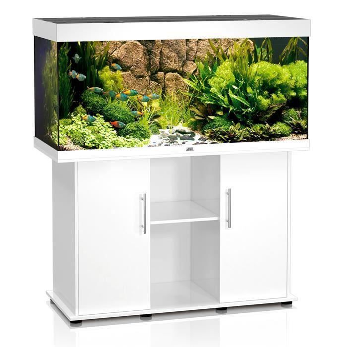 aquarium blanc avec meuble achat vente aquarium blanc. Black Bedroom Furniture Sets. Home Design Ideas