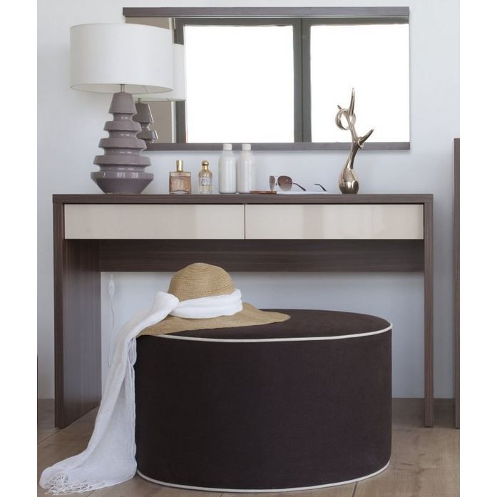 meuble coiffeuse milazzo achat vente coiffeuse meuble coiffeuse milazzo cdiscount. Black Bedroom Furniture Sets. Home Design Ideas