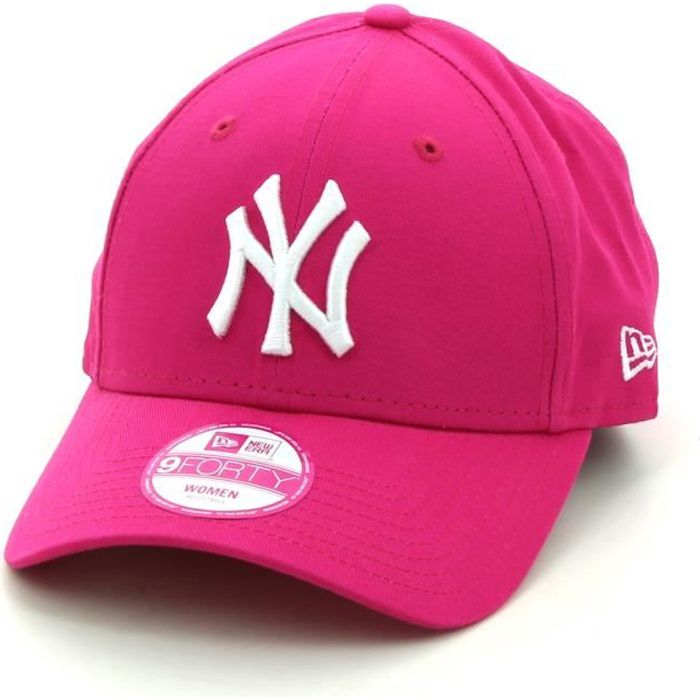 casquette new era mlb new york yankees 9forty rose rose achat vente casquette soldes. Black Bedroom Furniture Sets. Home Design Ideas