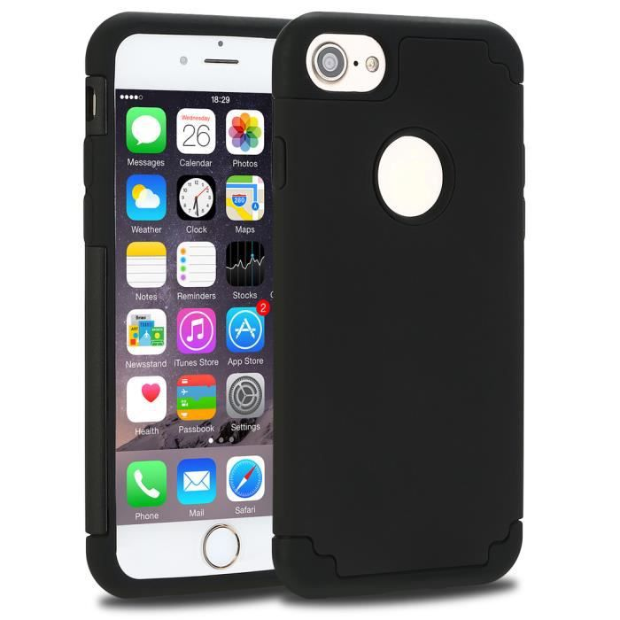 coque iphone 7 2 en 1