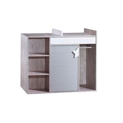 Commode langer volutive nova nv681 sauthon easy achat for Transformer commode en table a langer