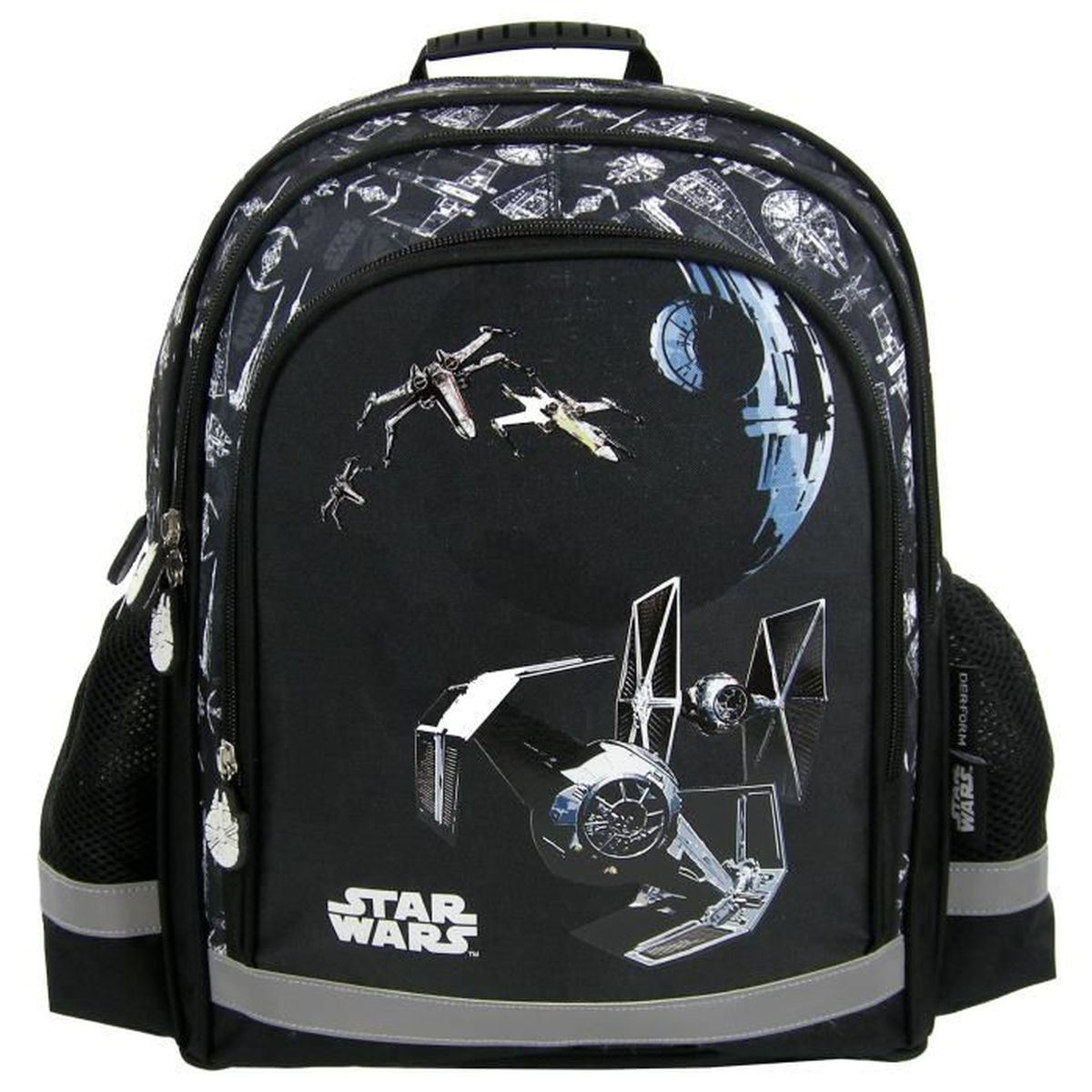 star wars grand sac a dos cartable cole loisirs extrascolaires sport vaisseau x wing. Black Bedroom Furniture Sets. Home Design Ideas