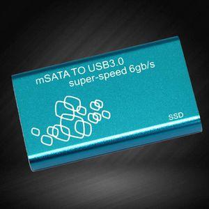 LECTEUR INT. DISQUETTE  Boîte de disque dur Mini SSD USB3.0 à Aluminium mS