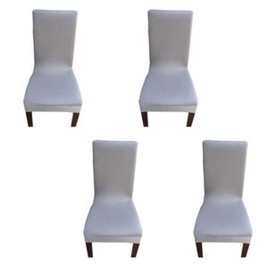 HOUSSE DE CHAISE 4 Pcs